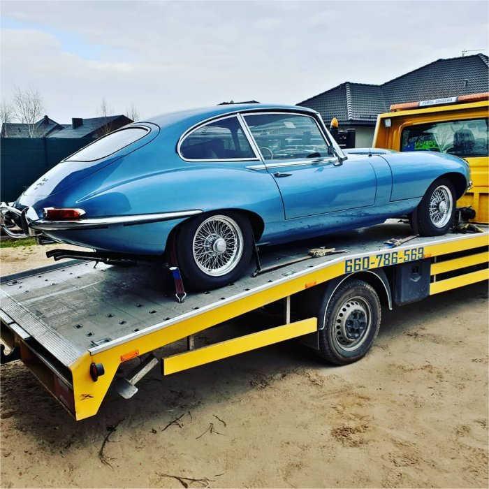 Odbiór auta z wypadku